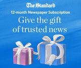12 month ST. CATHARINES STANDARD Weekend home-delivery subscription