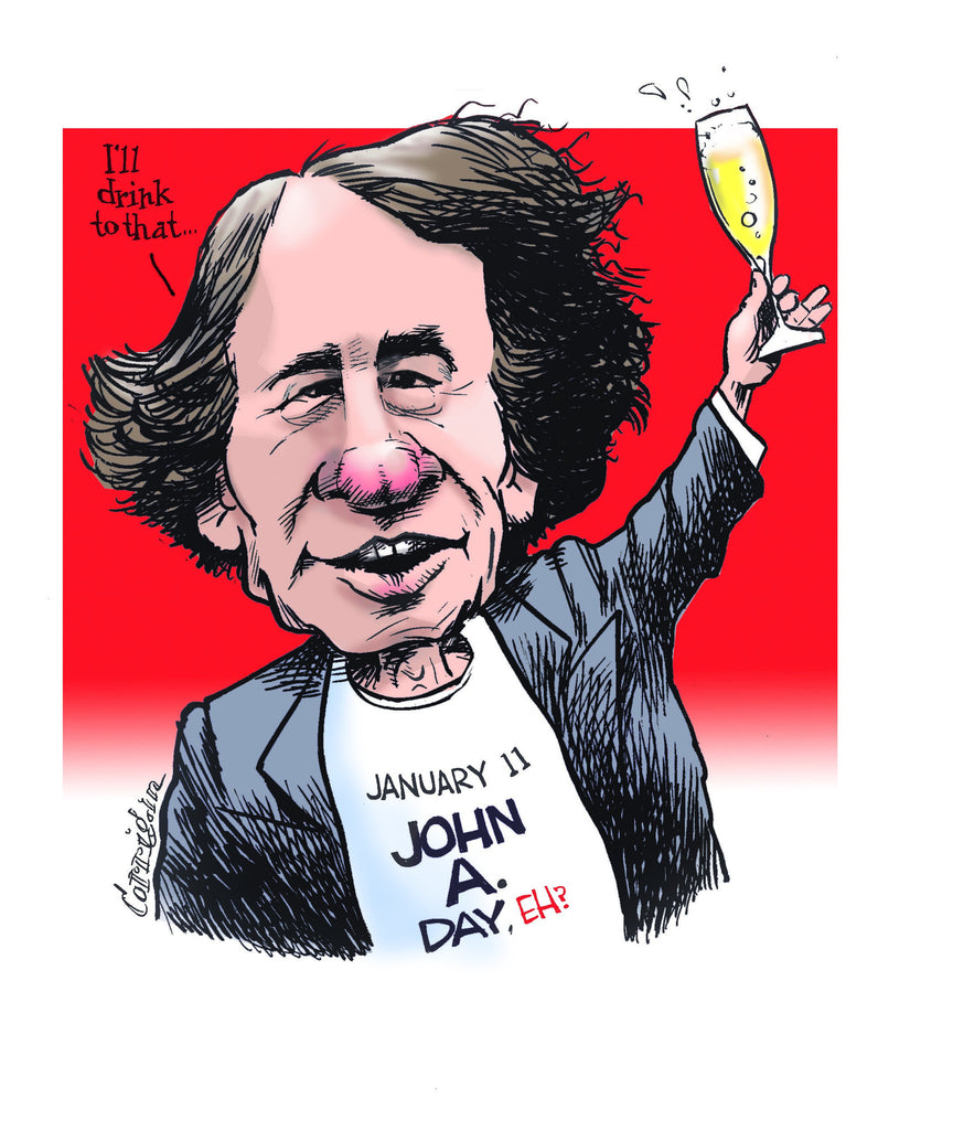 Sir John A. Macdonald Cartoon