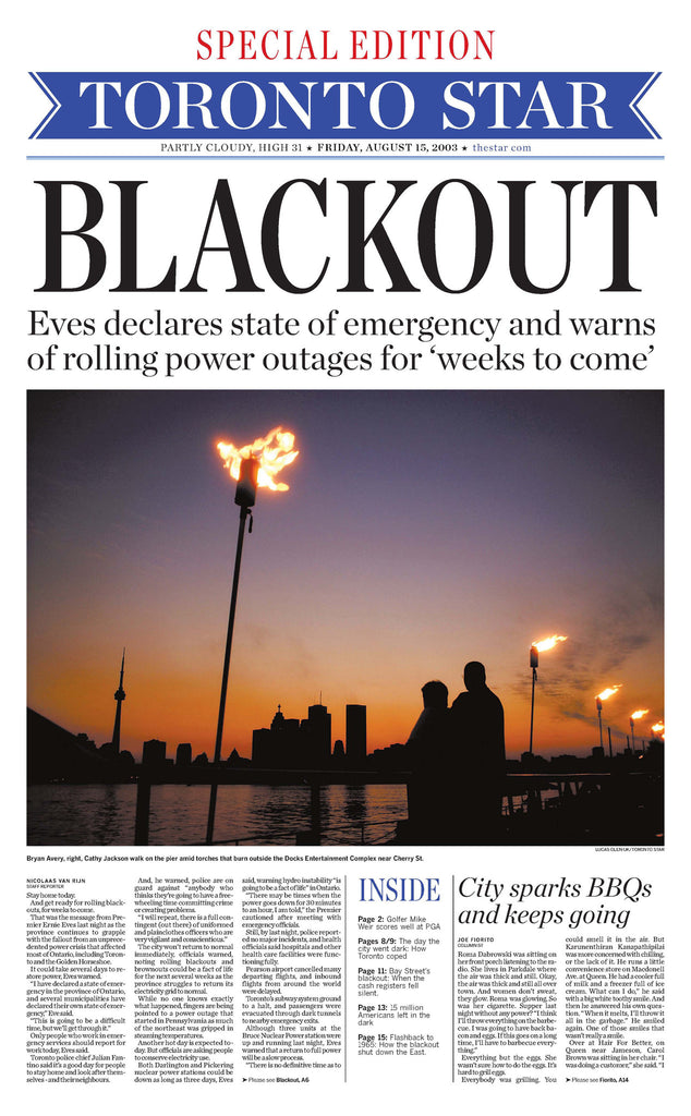 Blackout page reprint