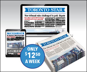 2019-20 Toronto Star ePaper Subscription with free Digital Access to thestar.com