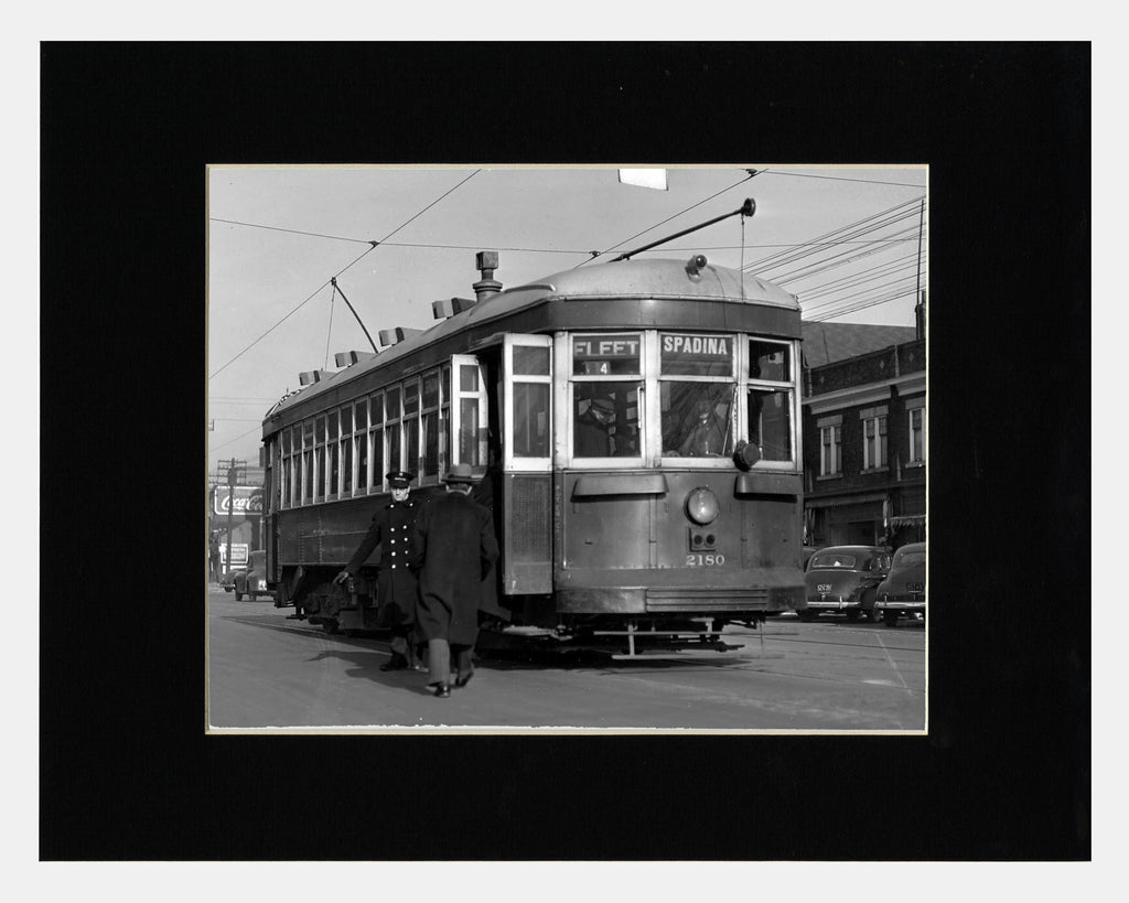 Image of Matted: Spadina Avenue, 1943 photograph