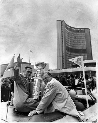 Stanley Cup Parade with George Armstrong & Harold Ballard