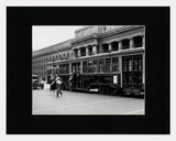 Matted: Streetcar At Union Station, 1932