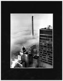 Image of Matted: Unfinished CN Tower photograph