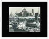 Matted: Toronto Waterfront, 1964