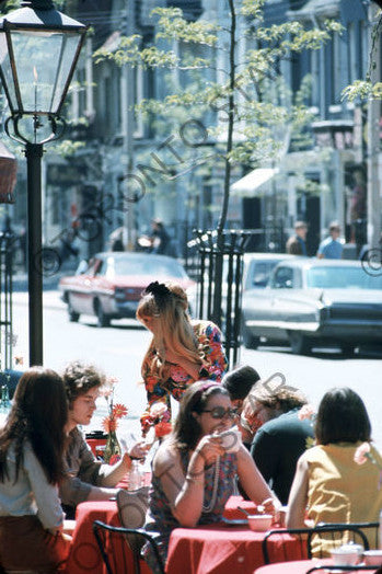 Yorkville Cafe, 1969