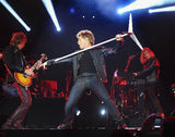 Bon Jovi arms stretched photograph
