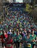 Toronto's annual Sporting Life 10K run, May 11, 2014