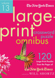 Image of Large-Print Crossword Puzzle Omnibus Vol. 13
