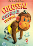 Image of The New York Times Colossal Crossword Challenge book cover