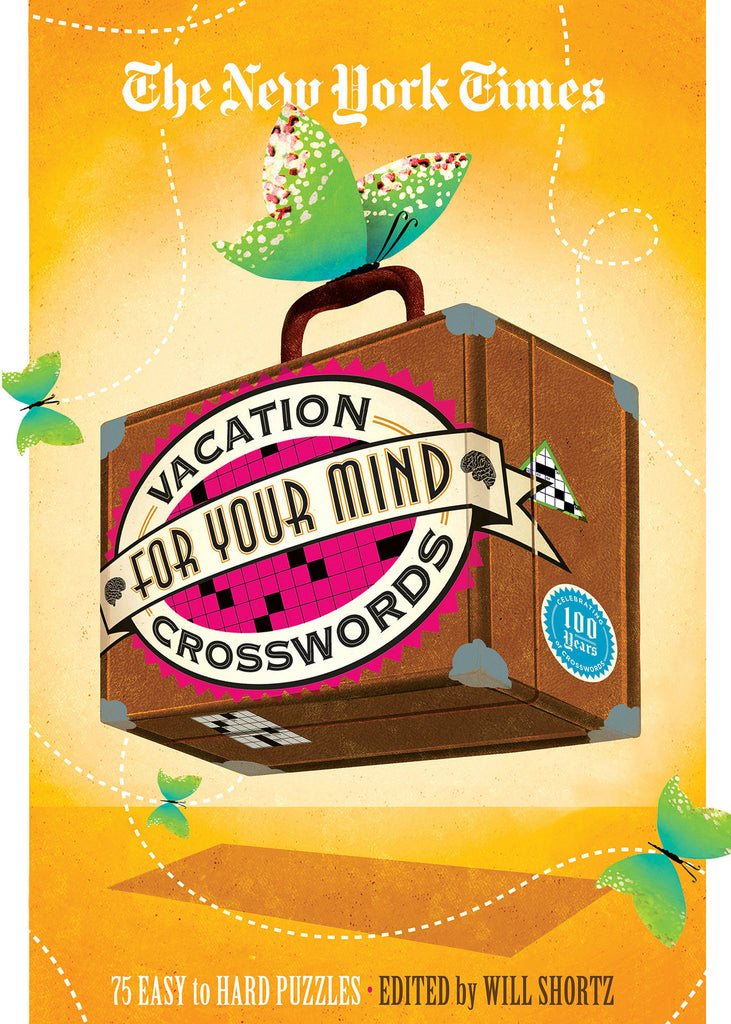 Image of The New York Times Vacation for Your Mind Crosswords book cover