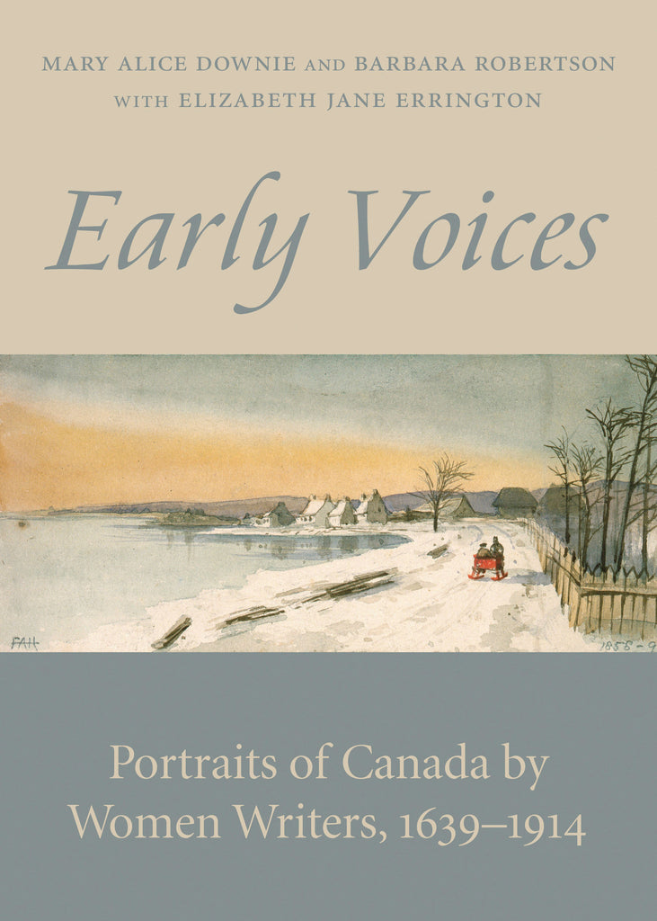 Image of Early Voices book cover