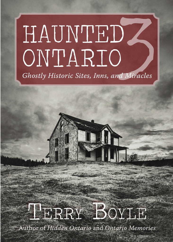Image of Haunted Ontario 3 book cover
