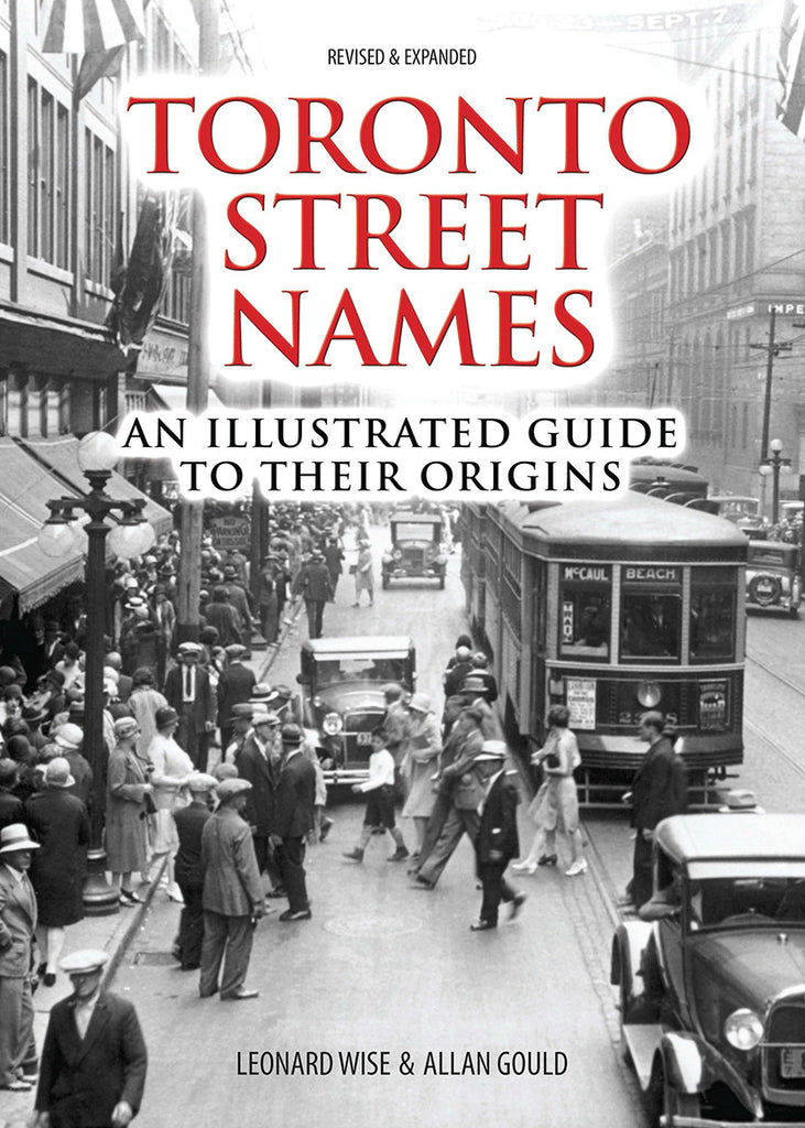 Image of Toronto Street Names book cover