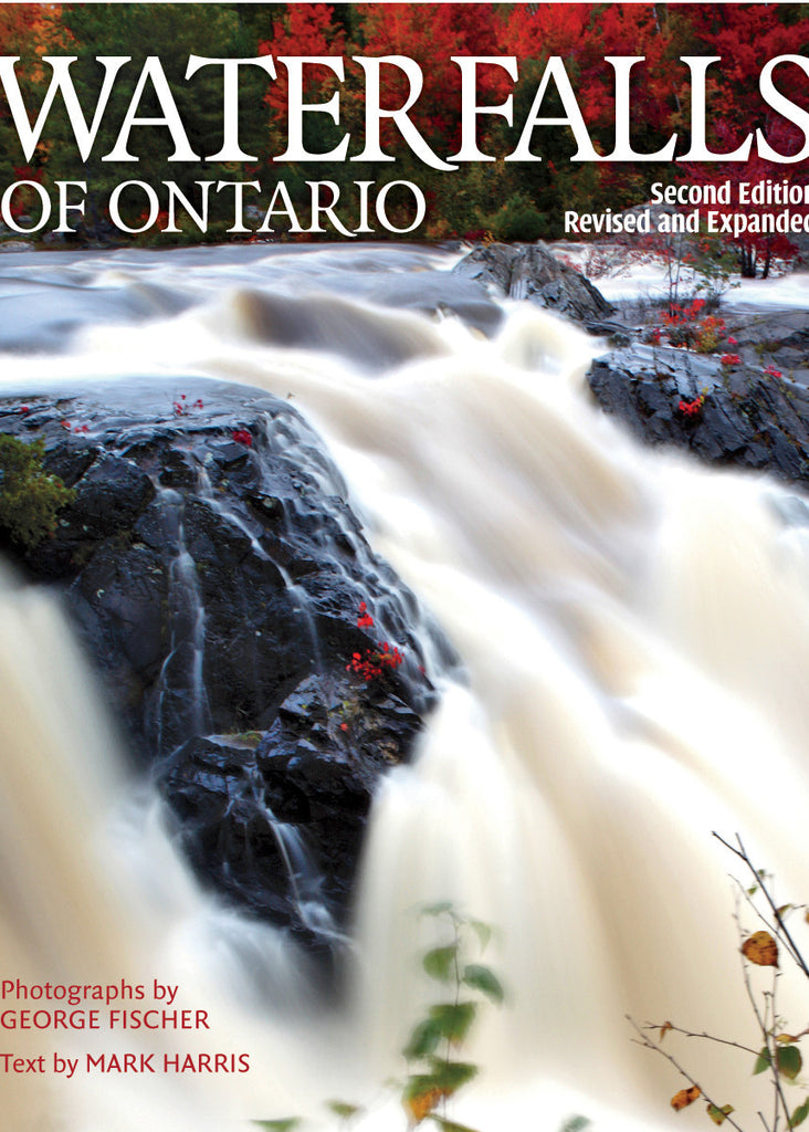 Image of Waterfalls of Ontario book cover