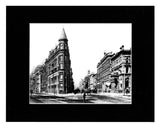 Image of Matted: Gooderham Flatiron Building photograph