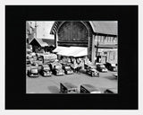 Matted: Fruit Market, 1949
