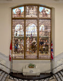 City Hall Stained Glass photograph