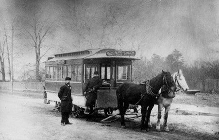 Two-horse Streetcar