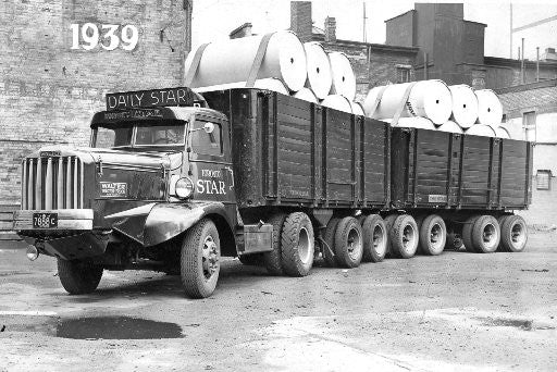 Daily Star Truck 1939