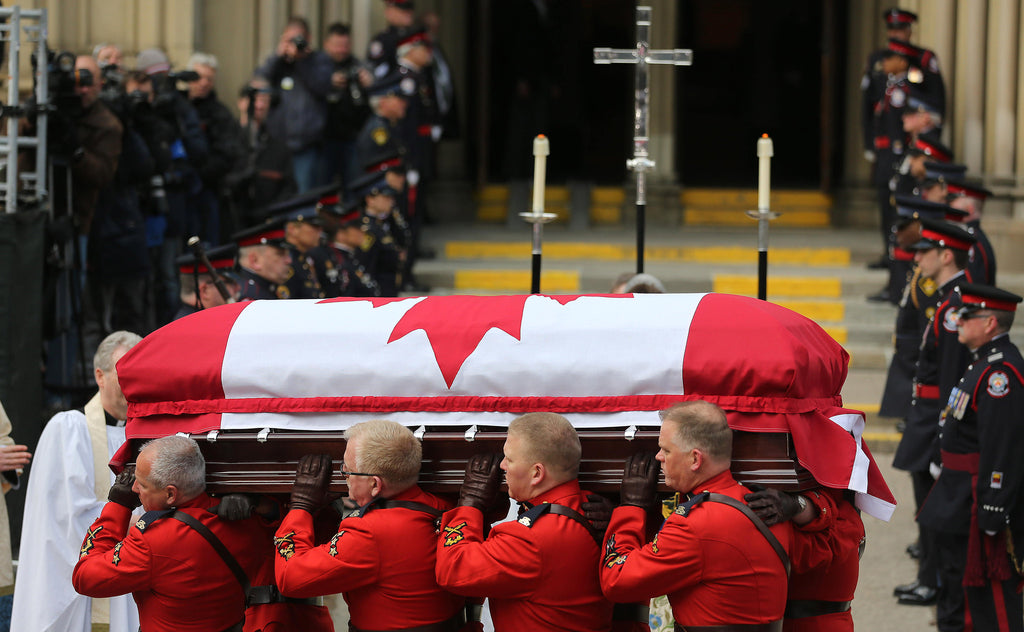 State Funeral for former Federal Finance Minister Jim Flaherty