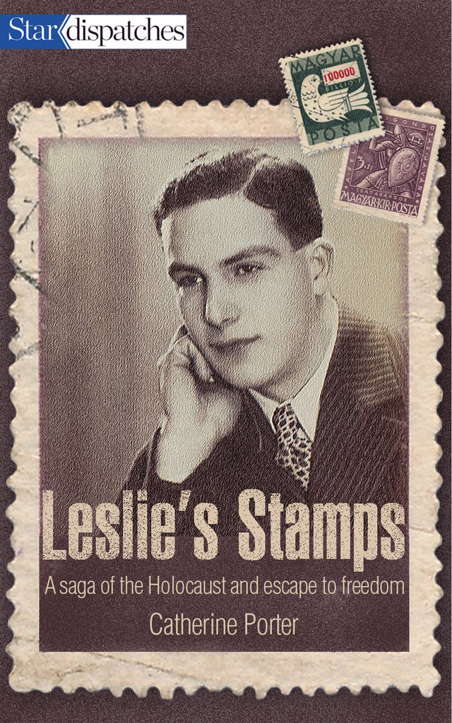 Image of Leslie's Stamps book cover