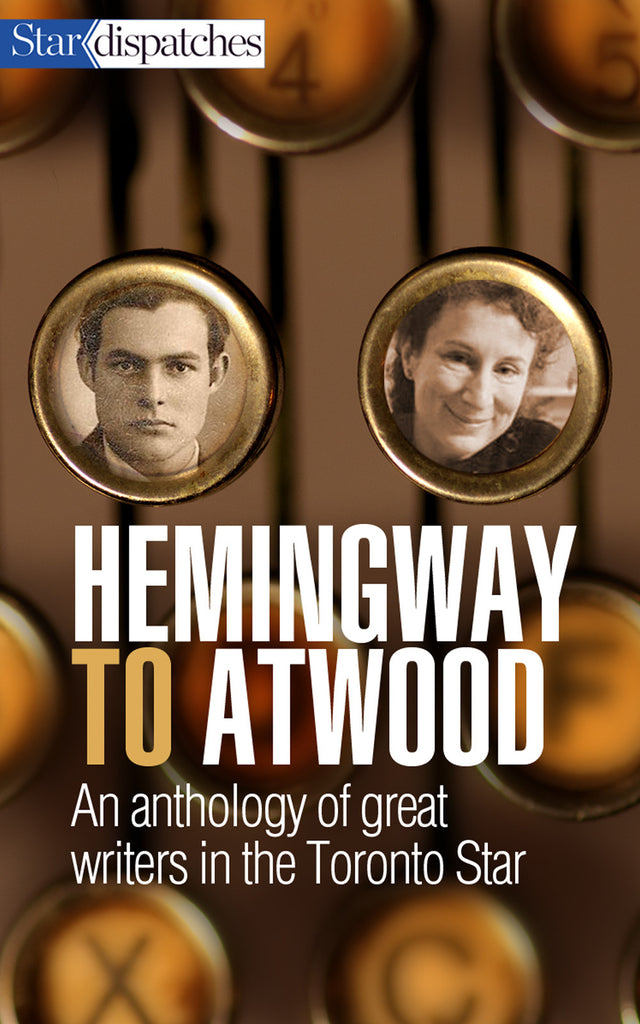 Image of Hemingway to Atwood book cover