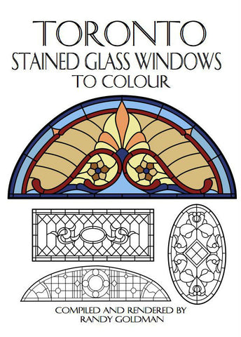Toronto Stained Glass Windows To Colour