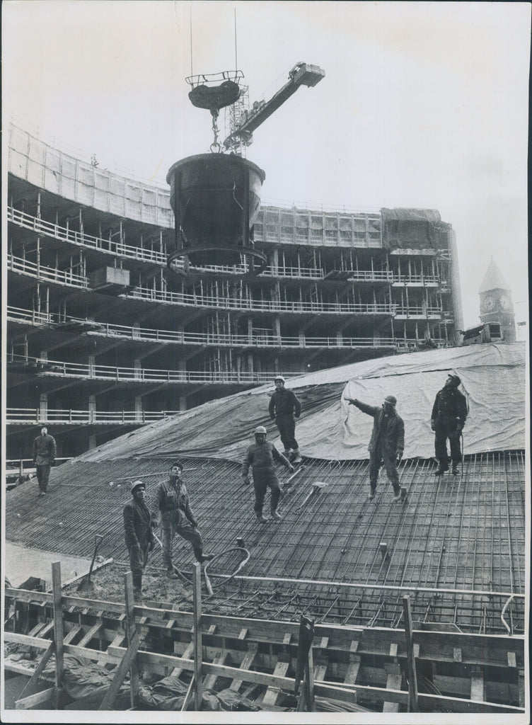 City Hall Construction, 1954
