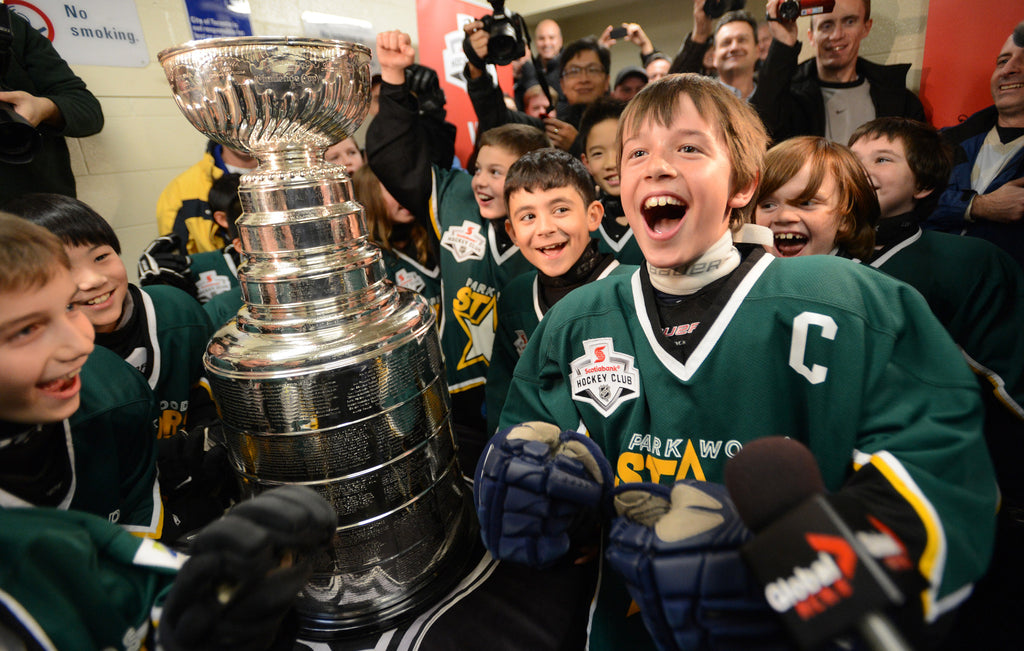 Parkwood Stars with Stanley Cup