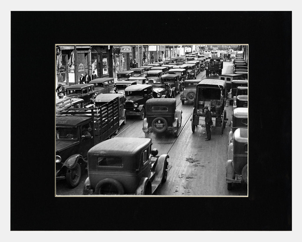 Image of Matted: York Street, 1931 photograph