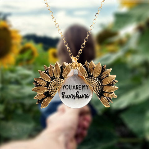 sunshine necklace - you are my sunshine sunflower necklace wiki wiseman