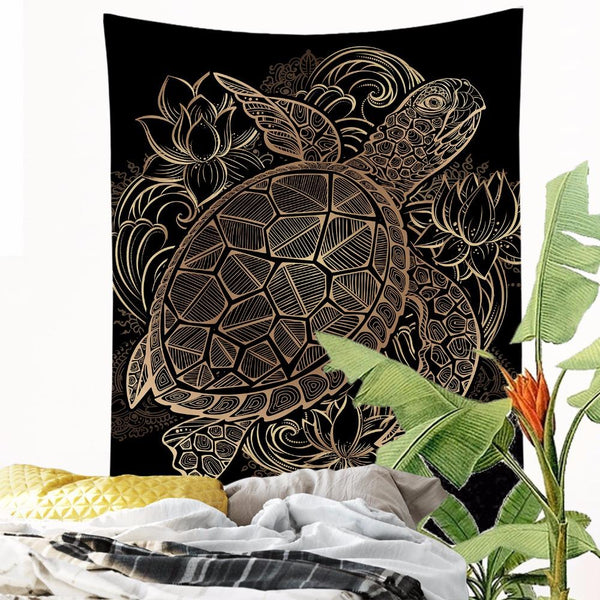 "Up to 65% OFF - Tapestry - ""Royal Turle"" Tapestry 