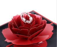Bloom Exclusive: 3D Popup Rose Ring Case