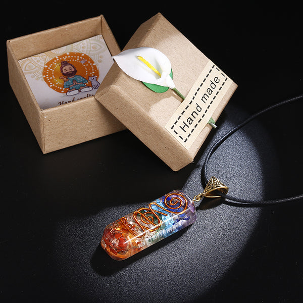7 Chakra Orgone Healing Pendant (SPECIAL DEAL)