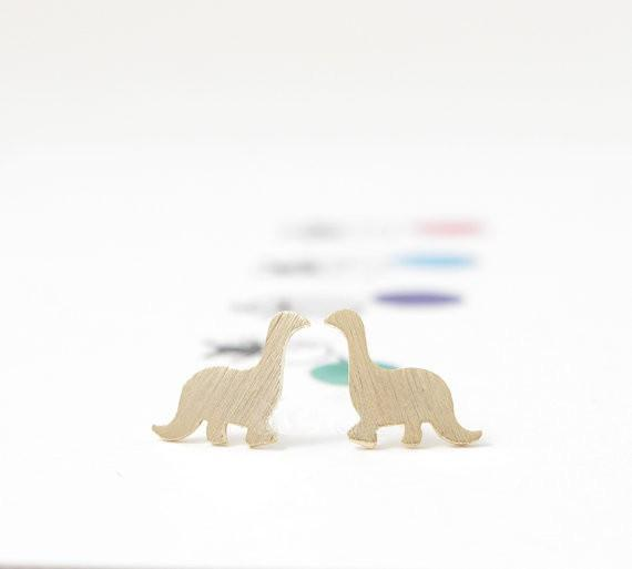 Up to 65% OFF -  - Precious Dinosaur Stud Earrings | Wiki Wiseman