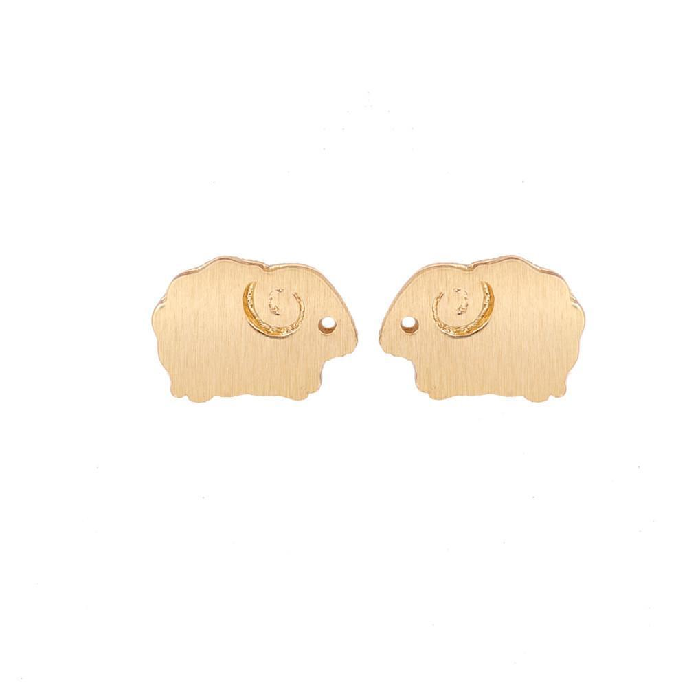 Up to 65% OFF -  - Precious Baby Sheep Stud Earrings | Wiki Wiseman