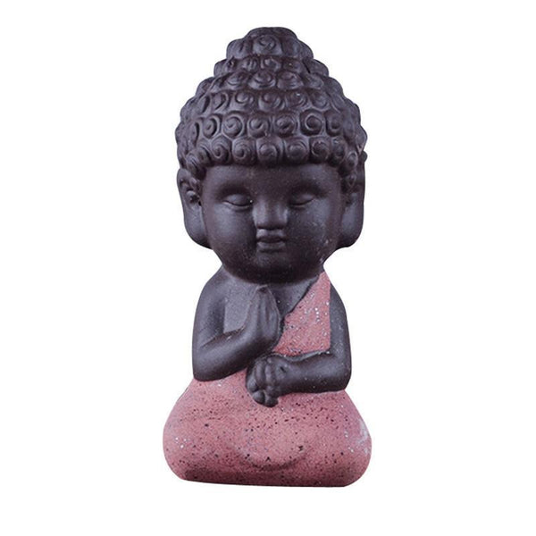 Up to 65% OFF -  - Handcrafted Little Buddah Ceramic Figurine | Wiki Wiseman