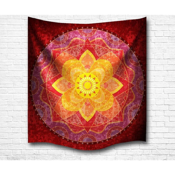 "Up to 65% OFF -  - ""Mandala of Passion"" Tapestry 
