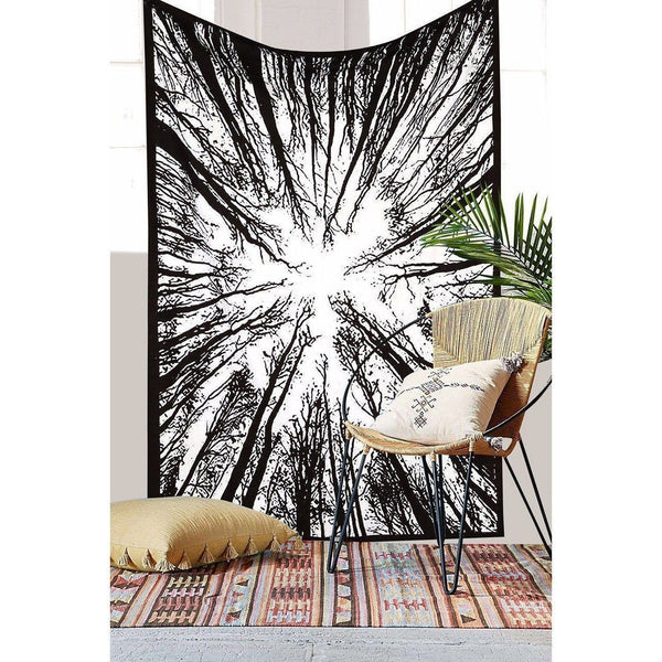 "Up to 65% OFF -  - ""Poetic Dark Forest"" Tapestry 