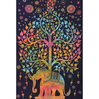 "Up to 65% OFF -  - ""Elephant Celebrates Color"" Tapestry 