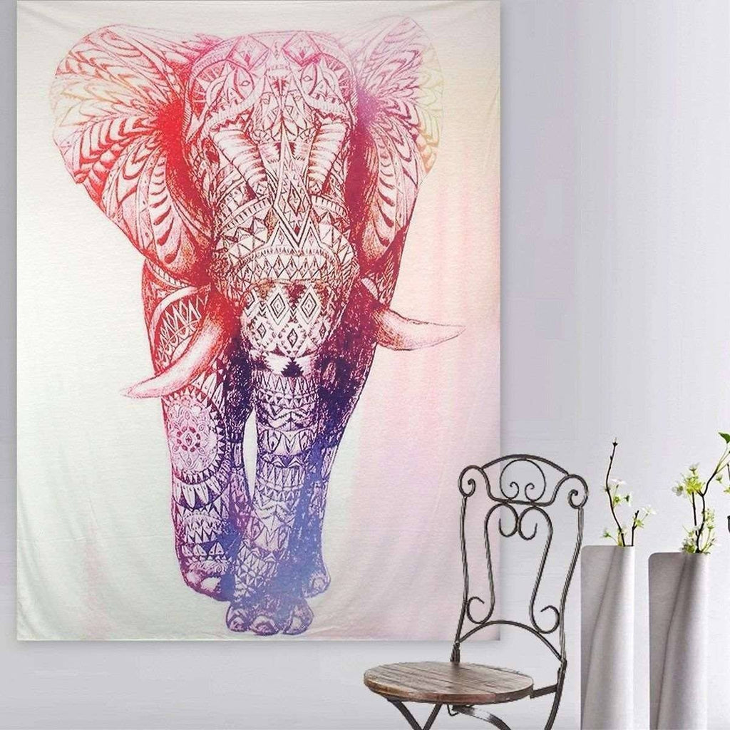 "Up to 65% OFF -  - ""Elephant on the War Path"" Tapestry 