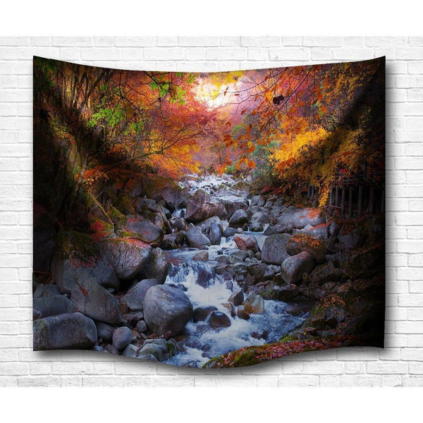 "Up to 65% OFF -  - ""Autumn Retreat"" Tapestry 