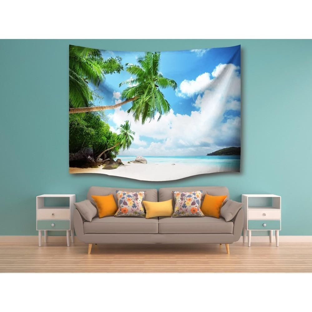"Up to 65% OFF -  - ""Tropical Paradise"" Tapestry 