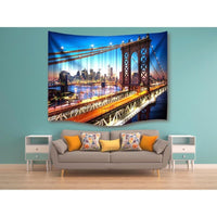 "Up to 65% OFF -  - ""Brooklyn Nights"" Tapestry 