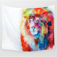 "Up to 65% OFF -  - ""Colored Heart of a Lion"" Tapestry 