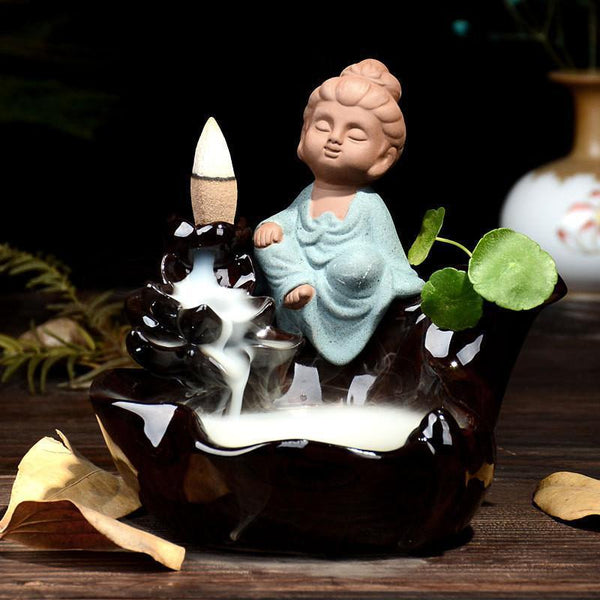 Up to 65% OFF -  - Buddha's Spring of Immortality Backflow Incense Burner | Wiki Wiseman