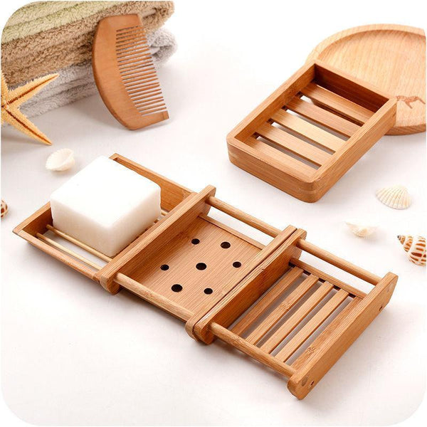 Up to 65% OFF -  - Japanese Creative Wooden Bamboo Soap Holder | Wiki Wiseman