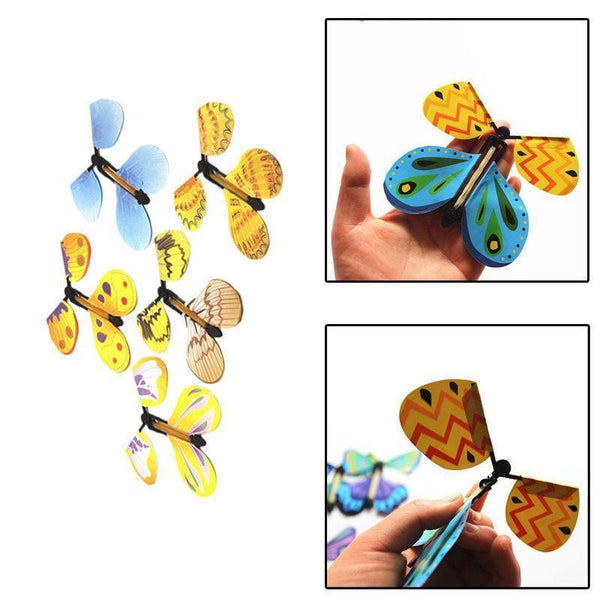 Up to 65% OFF -  - FREE SHIPPING: [Bundle] Magic Flying Butterfly - Surprise Card Inserts | Wiki Wiseman