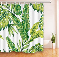"Up to 65% OFF - Shower Curtains - ""Gatherer"" Leaf Collection Shower Curtain 